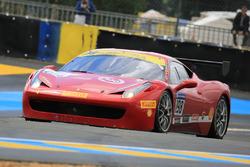 #198 Motor Service Ferrari 458 Challenge Evo: Eric Cheung