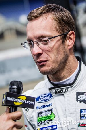 #68 Ford Chip Ganassi Racing Ford GT: Sébastien Bourdais interviewed by Alexander Wurz for Motorspor
