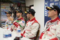 Press conference, Tiago Monteiro, Honda Racing Team JAS, Honda Civic WTCC