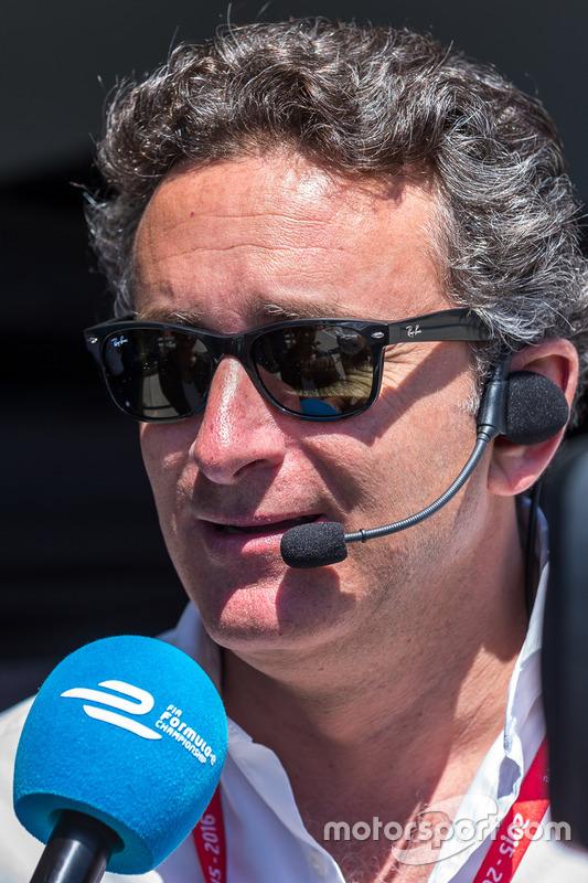 Alejandro Agag CEO of Formula E