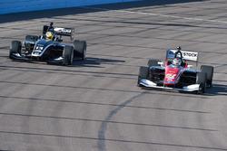 Shelby Blackstock, Andretti Autosport; Zachary Claman DeMelo, Juncos Racing