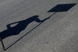 Chica de la parrilla shadow