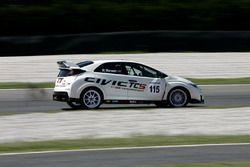 Karl Gustav Nerman, Jas Motorsport, Honda Civic-TCS2.0 #115