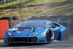 #77 Attempto Racing, Lamborghini Huracan GT3: Davide Valsecchi, Jack Falla