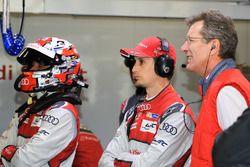 Оливер Джарвис, Лоик Дюваль, Audi Sport Team Joest, Ральф Юттнер, технический директор Audi Sport Team Joest