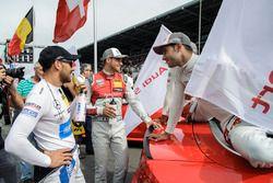 Edoardo Mortara, Audi Sport Team Abt Sportsline, Audi RS 5 DTM, Miguel Molina, Audi Sport Team Abt Sportsline, Audi RS 5 DTM, Gary Paffett, Mercedes-AMG Team ART, Mercedes-AMG C63 DTM