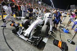 Felipe Massa, Williams FW38 en la parrilla
