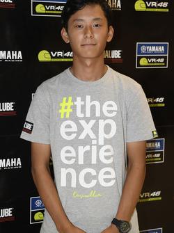 Soichiro Minamimoto, participant au Yamaha VR46 Master Camp