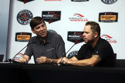 Steve Eriksen, Honda Performance Development; Michael Shank, Michael Shank Racing