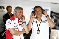 Fritz Enzinger, Vice President LMP1 Porsche Team and Michael Steiner, Board Member Research and Deve