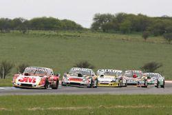 Mariano Werner, Werner Competicion Ford, Christian Ledesma, Las Toscas Racing Chevrolet, Emanuel Mor