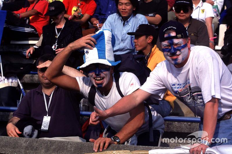 Fans van Mika Hakkinen