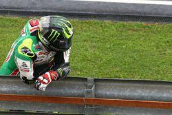 Cal Crutchlow, Team LCR Honda después de su choque