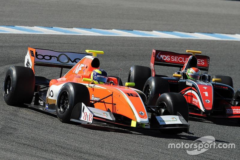 Tom Dillmann, AVF, Louis Deletraz, Fortec Motorsports