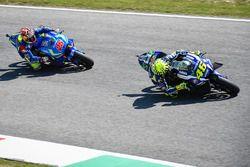Valentino Rossi, Yamaha Factory Racing, Maverick Viñales, Team Suzuki MotoGP