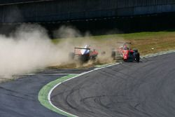 Accidente de Mick Schumacher, Prema Powerteam y Juan Manuel Correa, Prema Powerteam