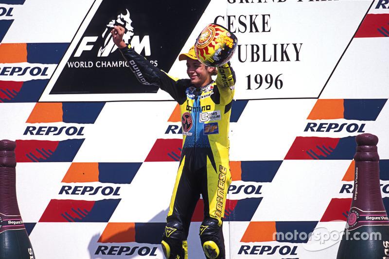Podio: el ganador, Valentino Rossi