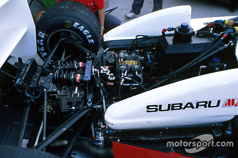 Bertrand Gachot, Coloni Subaru