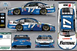 Ricky Stenhouse Jr., Roush-Fenway Racing paint scheme