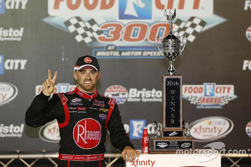 Il vincitore della gara Austin Dillon, Richard Childress Racing Chevrolet
