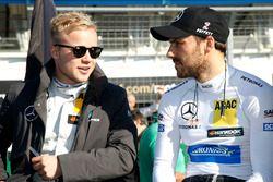 Felix Rosenqvist, Mercedes-AMG Team ART, Mercedes-AMG C 63 DTM DTM; Gary Paffett, Mercedes-AMG Team