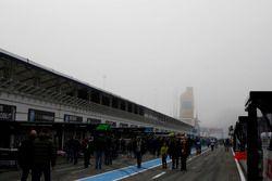 Práctica se retrasa por neblina