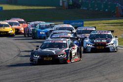 Start action, António Félix da Costa, BMW Team Schnitzer, BMW M4 DTM leads