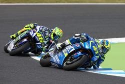 Aleix Espargaro, Team Suzuki Ecstar MotoGP, Valentino Rossi, Yamaha Factory Racing