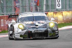 Халед Аль-Кубайси, Давид Хайнемайер Ханссон и Патрик Лонг, #88 Proton Racing Porsche 911 RSR