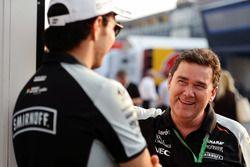 Sergio Pérez, Sahara Force India F1 con Steve Curnow, Sahara Force India F1 Team