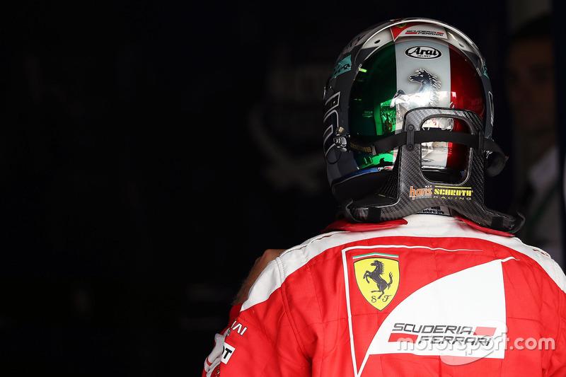 Italie 2016 - Sebastian Vettel, Ferrari