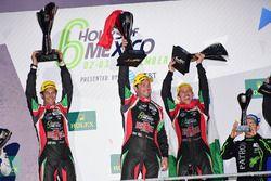 Primer lugar LMP2, Ricardo Gonzalez, Filipe Albuquerque, Bruno Senna, RGR Sport by Morand