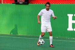 Match de football de charité Heineken : Fernando Alonso, McLaren Honda