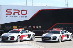 SRO Audi R8 safety cars