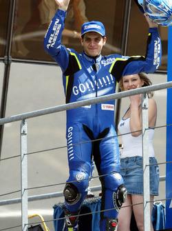 Podium: third place Alex Barros, Yamaha Tech 3