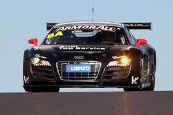 #8 Audi R8 LMS: Christopher Mies, Darryl O'Young, Marc Basseng