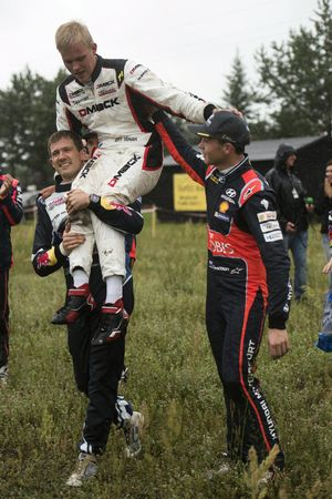 Sébastien Ogier, Volkswagen Polo WRC, Volkswagen Motorsport con Ott Tanak, DMACK World Rally Team e