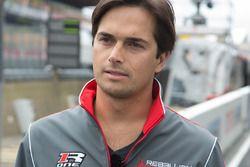 #12 Rebellion Racing Rebellion R-One AER: Nelson Piquet Jr.