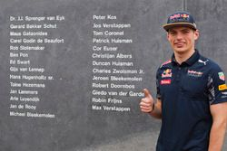 Max Verstappen, Red Bull Racing at the Autosport Monument at Circuit Park Zandvoort