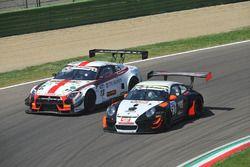Pastorelli-Pastorelli, Krypton Motorsport, Porsche 911 GT3 R #53 e Linossi-Bontempelli, Drive Techno