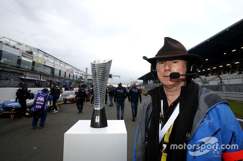 James Glickenhaus with his Pole award