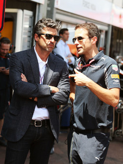Patrick Dempsey, Actor with the Red Bull Racing team