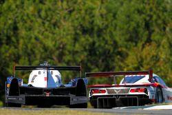 #60 Michael Shank Racing with Curb/Agajanian Ligier JS P2 Honda: John Pew, Oswaldo Negri Jr., Olivier Pla, #31 Action Express Racing Corvette DP: Eric Curran, Dane Cameron, Simon Pagenaud