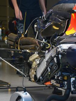 Détail du moteur Red Bull Racing