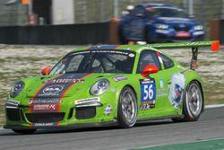 #56 DINAMIC SRL, Porsche 991 Cup: Alex de Giacomi, Giovanni Berton, Niccolo' Mercatali, Mattia Drudi