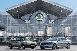 Skoda célèbre les 25 ans de la prise de possession par Volkswagen