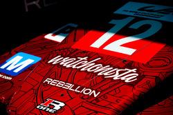 Николя Прост, Ник Хайдфельд и Нельсон Пике мл., #12 Rebellion Racing Rebellion R-One AER