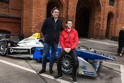 Alejandro Agag, CEO Formula E and Daniel Abt, ABT Schaeffler Audi Sport