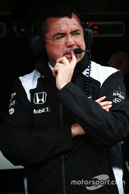 Eric Boullier, McLaren koersdirecteur