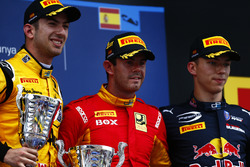 Николя Латифи, DAMS, Норман Нато, Racing Engineering и Пьер Гасли, Prema Racing